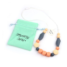 Buy TYRY.HU NEW Baby Teething Pacifier Chain Baby Necklace Toys Jewelry Charms Safe Silicone Baby Teether Care Tools 0-12 month for $4.46 in AliExpress store