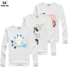 DMDM PIG Toddler Baby Long Sleeve T-Shirt For Girl The Boy Child T-Shirts For Girls Winter Tops TShirt Boys Kids T Shirt Blouse