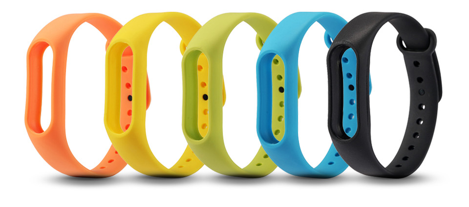 For Xiaomi Mi Band 2 Bracelet Strap Miband 2 Colorful Strap Wristband Replacement Smart Band Accessories For Mi Band 2 Silicone 3
