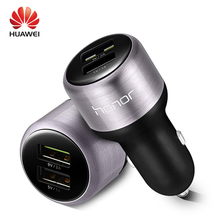 HUAWEI P9 Car Fast Charger Dual USB Supercharge 9V2A Original Super Charge Type-c Cable nova lite honor 8 9 V8 V9 Type C Cabel(China)