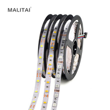 5M / Roll RGB Flexible LED Strip light SMD 2835 5050 60 LEDs/M String lighting For Holiday Chrismas Decoration lamp Tape(China)