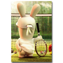 Buy Rayman Raving Rabbids Art Silk Fabric Poster Print 13x20 24x36 inch Hot Game Picture Living Room Wall Decoration 001 for $4.91 in AliExpress store