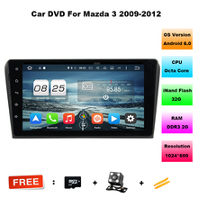 Free Shipping 9 inch Octa Core Android 6.0 2GB DDR3 Car DVD For Mazda3 axela Car Multimedia Mazda 3 Bluetooth 4.0 WIFI dual band(China)