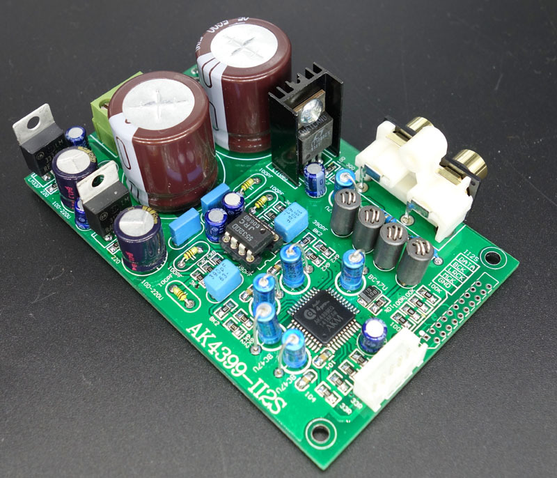 AK4399 decoding board I2S input (upgrade grinding DAC CD player red core players Raspberry)<br>