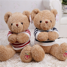 18cm Cute Bear Dolls Teddy Bear Soft Toy Bear Wedding Gifts Baby Toy Birthday Gift A55