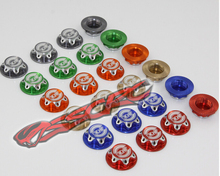 KKPIT 17MM CNC dust proof cover wheel nut antiskid 1/8 off road rc car monster truck 1.0