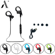 AmericaMander BT11 APTX HIFI stereo MP3 bass music headset bluetooth 4.1 wireless headphones sports ear hook earphones with Mic