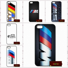 For silm BMW M Series M3 M5 logo Cover case for iphone 4 4s 5 5s 5c 6 6s plus samsung galaxy S3 S4 mini S5 S6 Note 2 3 4 F0379(China)