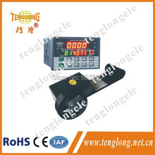 JDM12-4S+LK-70  LED cable meter counter digital length counter meter 4 bit and length measurment wheel LK-70