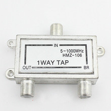 1pcs The explosion limit berserk half flow half power splitter 1 cable TV TV signal equipment 106