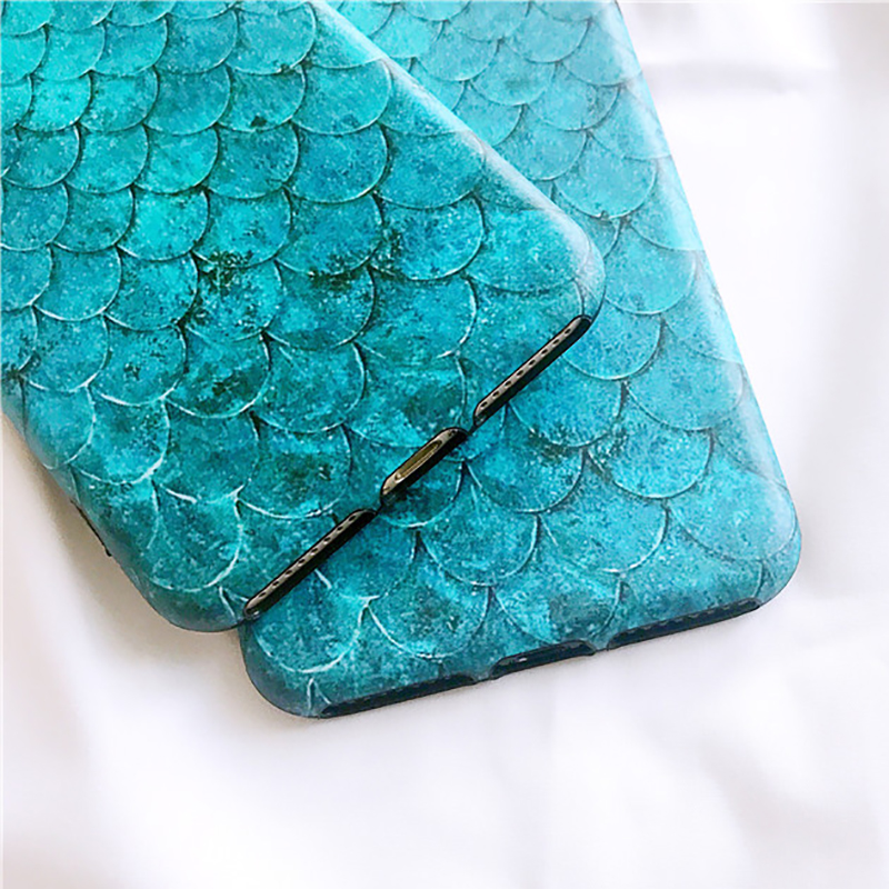 Mermaid Scales Phone Case For iPhone