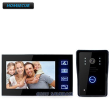"HOMSECUR 7"" Video Door Phone Intercom Doorbell Home Security Camera Monitor Night Vision(China)"