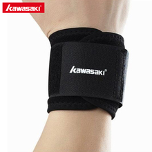 Kawasaki Gym Wrist Support Straps Wraps Adjustable Wristband Brace For Weight Lifting Volleyball Training Sports Safety KF-3106(China)