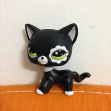 PET Shop Collection LPS Figure For Girl Children  Black Short Hair Cat   #2249 DW2249