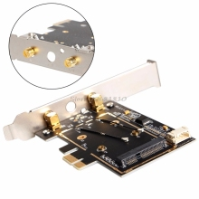 Mini BCM4352 867Mbps + Bluetooth BT 4.0 802.11AC/BGN Desktop PCI-E Adapter -R179 Drop Shipping