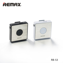Original Remax Sports Lavalier Wireless Stereo Earphone High Quality Line In Control  Bluetooth FM Radio MP3 MP4 MP5 player