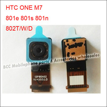 No/green/purple/pink tint the 3rd newest version Back Rear Facing Camera flex cable for HTC One m7 801e/n/s 802t/d/w  Original