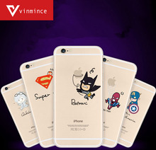 Marvel Spider-Man hero spoof latest interesting 2016 Phone Case For iPhone 6 6s 6plus 6s plus Mobile phone shell free shipping