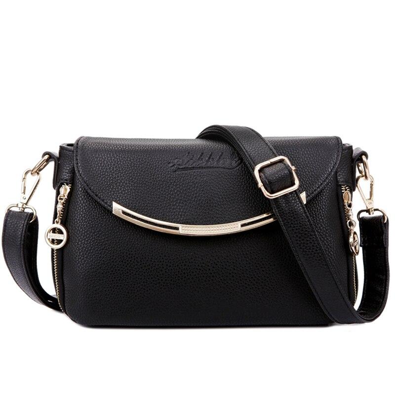 Womens Shoulder Bags Genuine Leather Female Ladies Handbags Women Messenger Bags Crossbody Small Capacity Totes Bolsas Feminina<br><br>Aliexpress