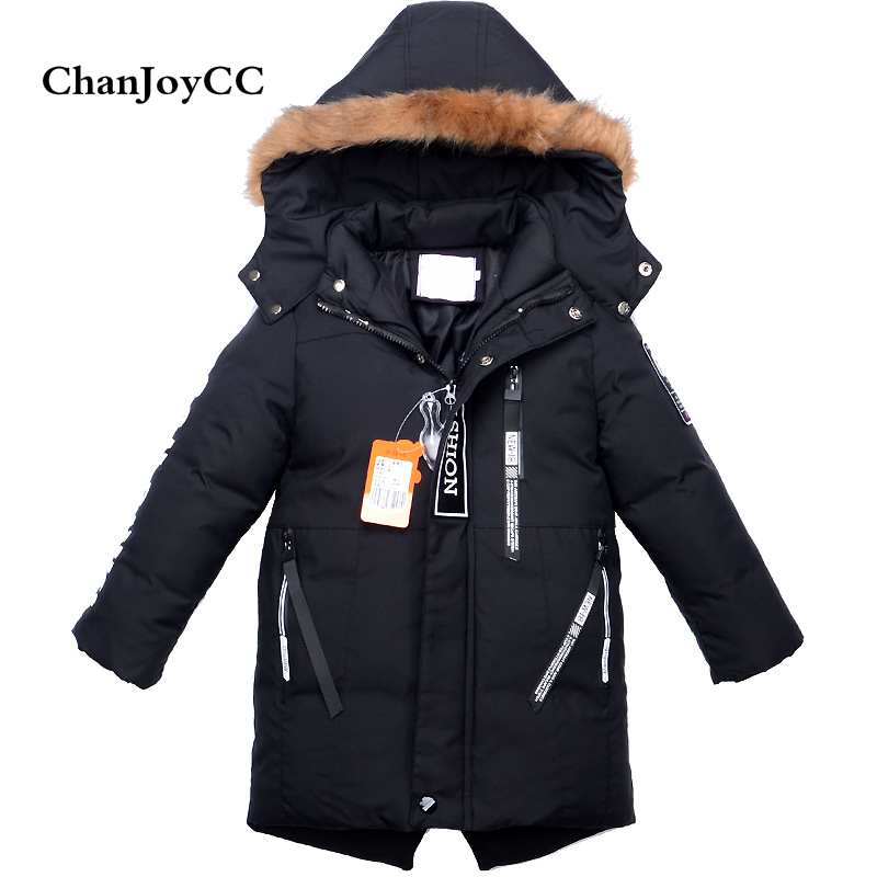 Hot Sale Childrens Down Jacket Winter New Fashion Girls And Boys Solid Thickening Outerwear Kids Warm Comfortable Coat Cotton<br>