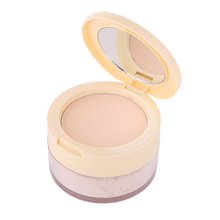 LIDEAL Brand Compact Translucent Face Contour Palette Finishing Loose Powder Setting Makeup Bare Mineralize Skinfinish Soft