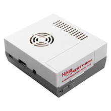 Reyann Mini NESPi NES Case for Raspberry Pi 3, 2 and B+ RetroPie classic arcade game console with cooling vents design & screws(China)