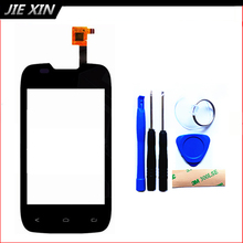 Tools+3M Sticker New Replacement Touch Screen For Fly iq431 iq 431 Cell Phone Digitizer Front Glass free shipping