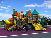 CE/TUV/SGS amusement outdoor playground equipment,children Multi-function combination slide for park/school/community YLW-1725