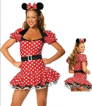 Disfraces de Halloween para mujeres recién estilo Cosplay adultos Minnie Mouse traje trajes temáticos Animal