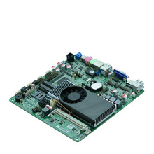 China Cheap Intel  I3-3217U Processor digital signage Thin clients POS board all in one mini pc motherboard