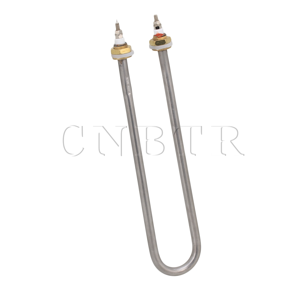 CNBTR 380V 3KW High Power 12 U Shaped Stainless Steel Water Electric Heater Element  <br><br>Aliexpress