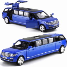 20Cm Extended Alloy Car  Luxury Vehicles / 5 Open Model Die Cast Toys Car  With Light and Music