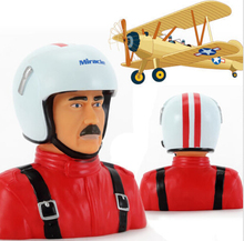 Miracle Hobby Accessories 1/4 Scale Big Portrait Toy Sam Pilot for RC Plane / Aircraft