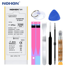 Original NOHON Phone Battery For Apple iPhone 6Plus 6 Plus Replacement Batteries 3250mAh MAX Capacity Lithium Polymer Free Tools(China)