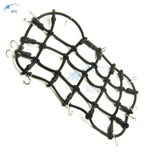1/10 RC Crawler Car Roof Rack Cargo Elastic Luggage Net with Hooks for AXIAL SCX10 RC4WD D90 CC01 D110 Truck Part