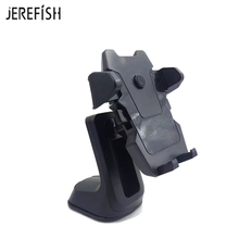 JEREFISH Car Holder for iPhone 8 Samsung Universal 360 Adjustable Sticky Silicone Sucker Phone Holder Stand for Car Phone Holder