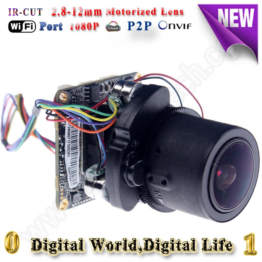 ip cctv camera module with wifi audio alarm RS485 ports ip camera wifi 1080p mini ptz module motorized zoom kamera cctv<br><br>Aliexpress