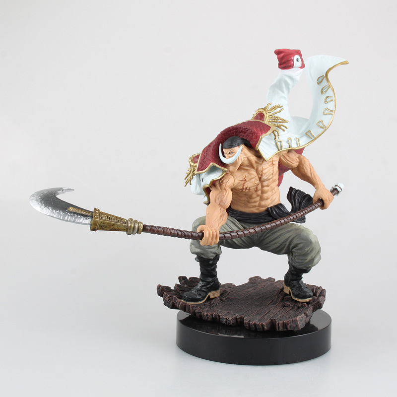 Free Shipping 9 One Piece Anime Whitebeard - Edward Newgate Battle Ver. Boxed 22cm PVC Action Figure Collection Model Doll Toy<br>