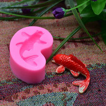 3D Fish Candle Silicone Mold Soap Mould Fondant Chocolate Mold For Cake Decorating Tools Kitchen Baking Accessories FC001