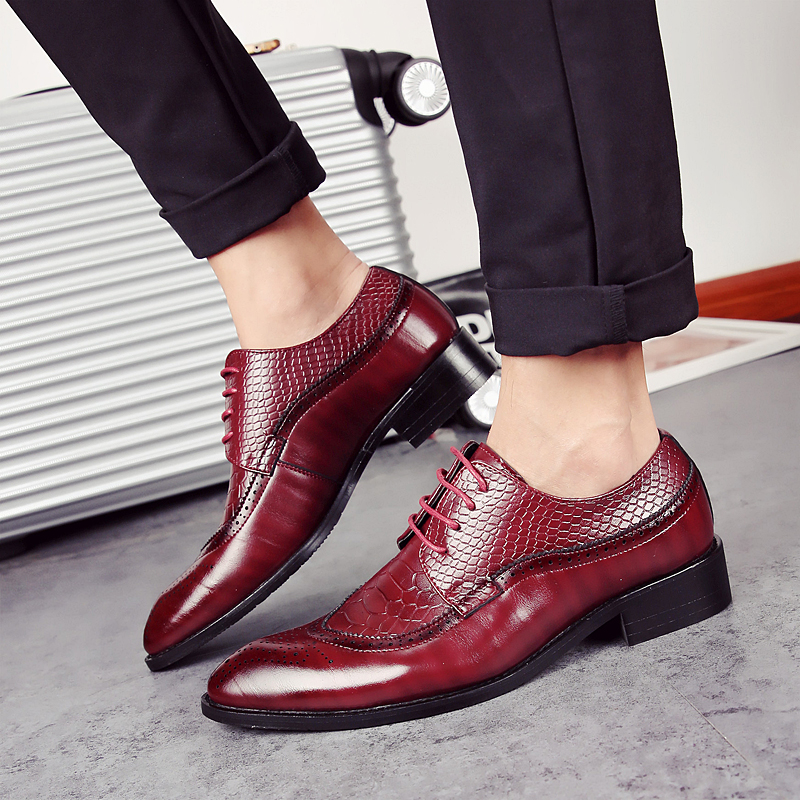 european men dress shoes 2017 brogue oxford  italian leather man shoes luxury brand formal footwear male office shoes for men (30)