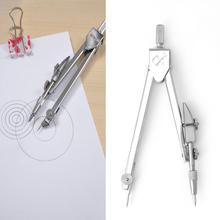 Metal Drafting Drawing Compasses Set School Math Geometry Teaching Study Tool
