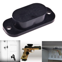 Magnet Concealed Gun Holder for desk bed or under table 25lb Rating For Pistol Rifle(China)