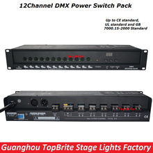 2016 Factory Price High Quality 1Pcs/Lot 12 Channels DMX Power Switch Pack Dj Disco Stage Lighting Equipments For Free Shipping