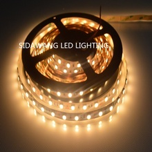 CRI>95Ra High Brightness SMD5050 60LEDS/M 2800K-7500K , led strip 5050 light ,10mm PCB,20-22lumen per Led(China)