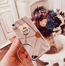 Korean Style Circular Ring Tassel Crocodile Leather Phone Case Cover For iphone 5 5s 6 6s 7 7 plus samsung s5 s6 s7 edge plus(China)