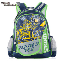 TRANSFORMERS children kids cartoon elementary school bag  shoulder backpack portfolio for boys grade 1-2