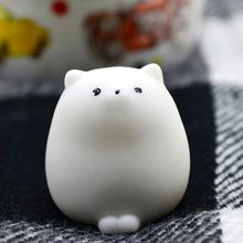 Cute Mochi Squishy Cat Squeeze Healing Fun Kids Kawaii Toy Stress Reliever Decor Toys Dropship Y731