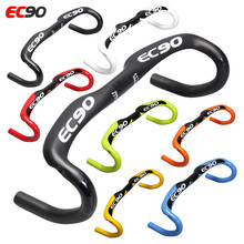 2017 EC90 New full carbon fiber road Bike handlebar racing handle Bike bend Bicycle handle 31.8*400 420 440MM 7 colors