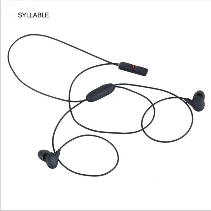 Original Syllable A6 In-ear Bluetooth Neckband Earphone Wireless High-fidelity Sound Headset Sport Fone PK SE215 earphones<br><br>Aliexpress