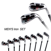 INSTOCK 8 Pieces/Set New #7 Golf Irons Set Man Golf Clubs With Graphite Club Shaft High Quality Golf Wedge